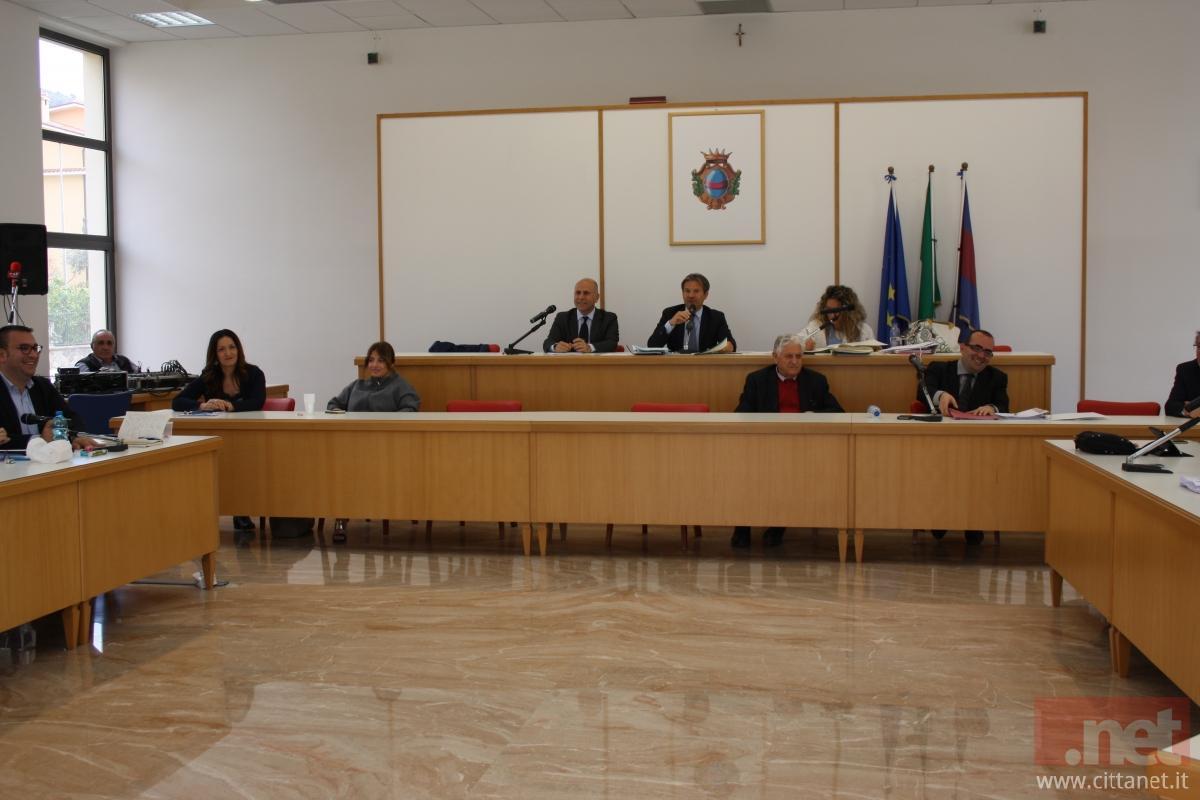 Un'immagine del Consiglio comunale di ieri 26 aprile