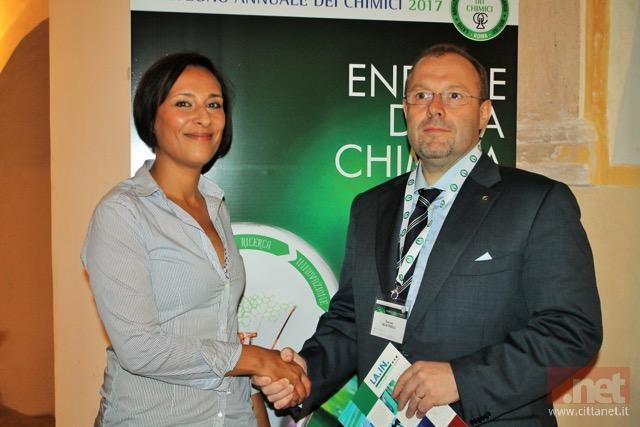 Sara Kelany, Delegata  ai programmi e risorse Ue, e ilpresidente dell'OrdineFabrizio Martinelli