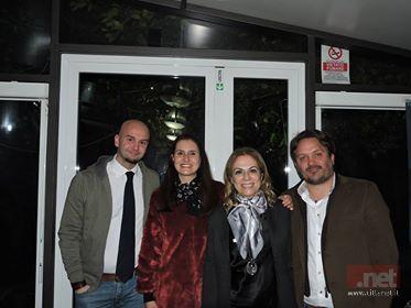 Nella foto il sindaco di Terracina Nicola Procaccini, Marialuisa Fiore, Matilde Celentano e Luca Caringi