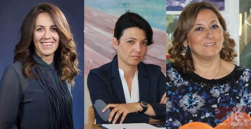 Laura Mirabella, Lorena Cogodda e Lucia Matita