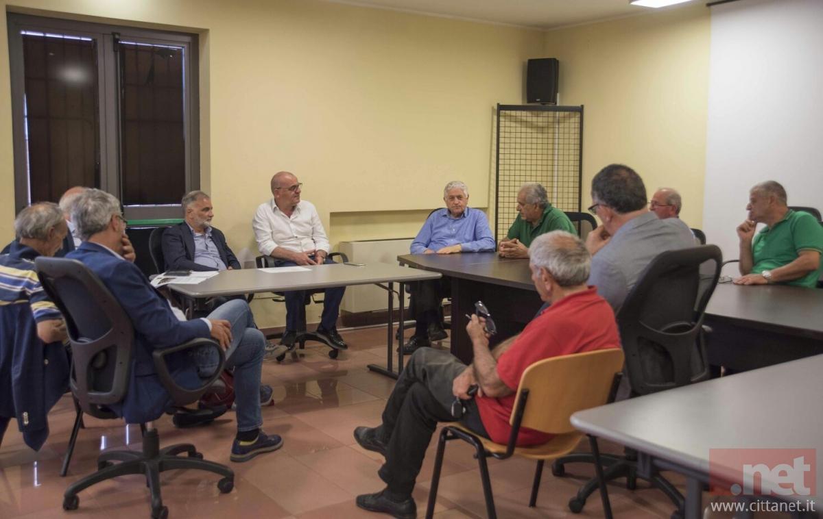 Uno scatto della riunione che si è tenuta oggi