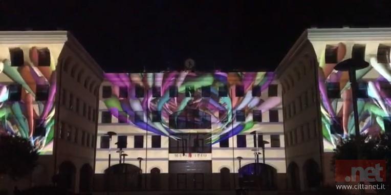 Giochi di luce come nel videomapping? No iniziativa volta a sensibilizzare la città