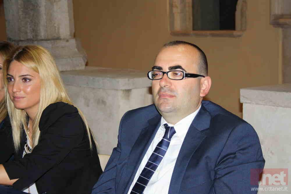L'assessore Claudio Spagnardi