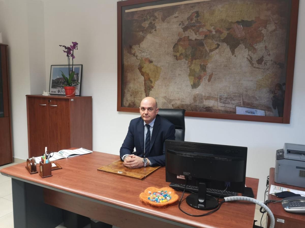 L'assessore all'Ambiente Fabrizio Macaro