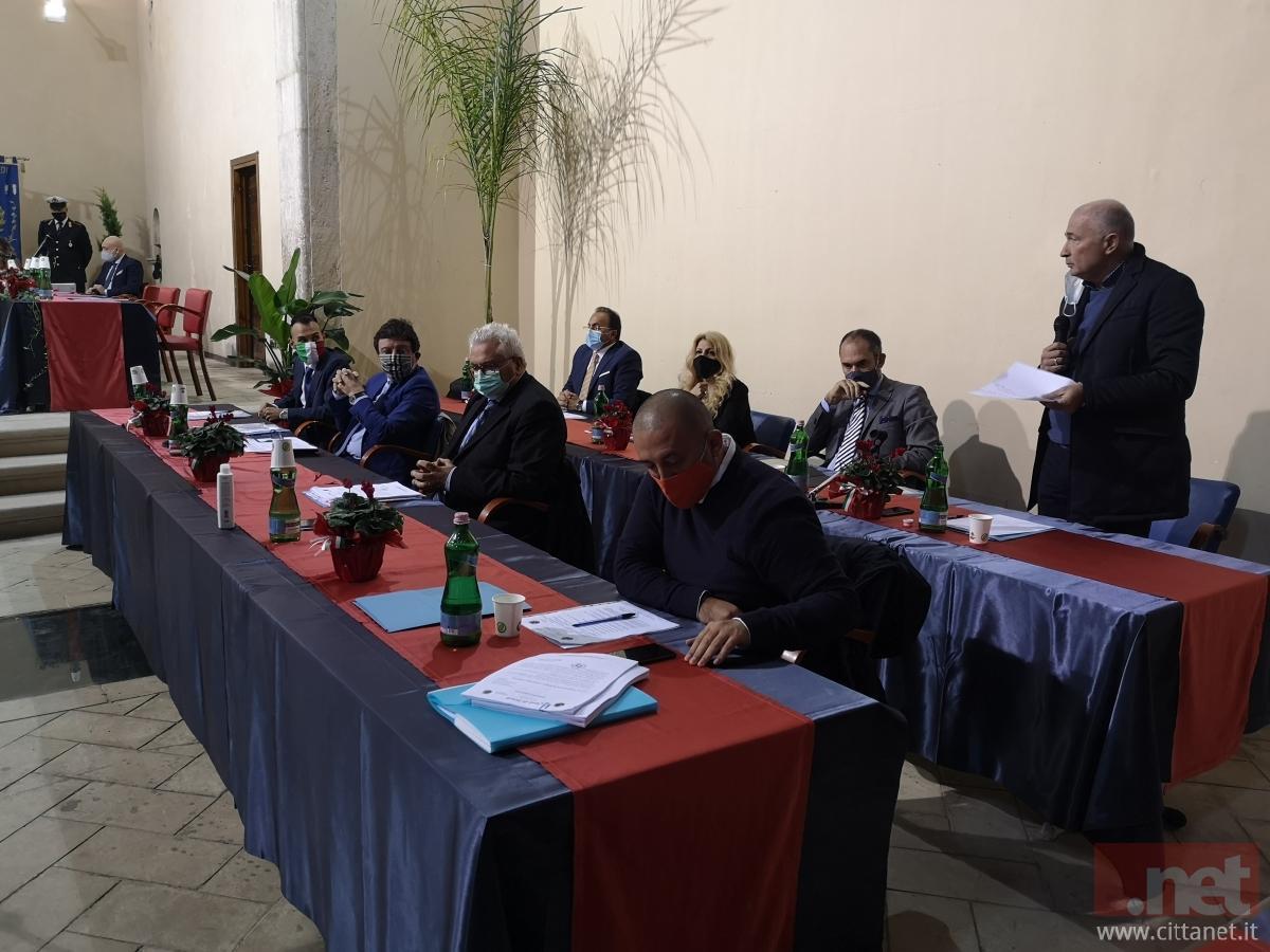 Da sinistra Franco Cardinale, Tiziana Lippa, Luigi Vocella e Luigi Parisella