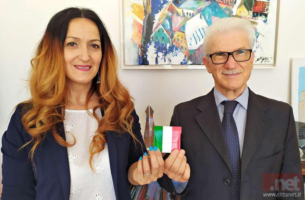 L'assessore Muccitelli e il vice sindaco Beniamino Maschietto