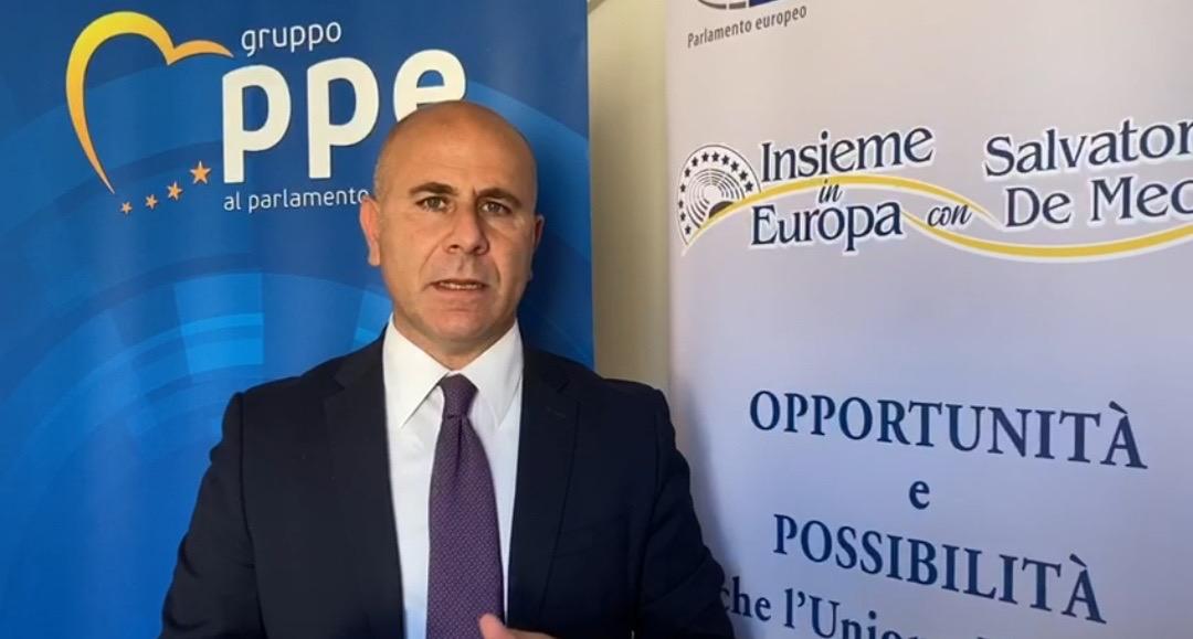 L'eurodeputato (FI - PPE) ed ex sindaco di Fondi Salvatore De Meo